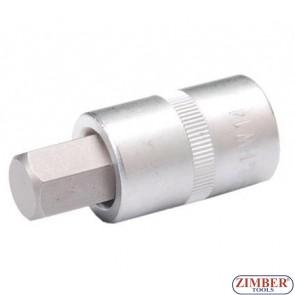 "1/2"" Hex socket bit 53mmL 14mm (ZB-4257) - BGS"