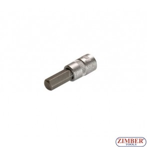 "1/4"" Hex socket bit 53mmL 8mm (ZB-2502) - BGS"