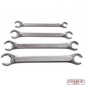 К-т инчови ключове рязани 15° за спирачни тръбички к-т 4 части