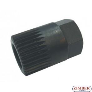 Alternator Wrench H17x33Tx30mm - ZIMBER-TOOLS