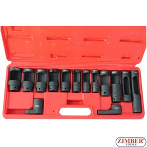 Large injector and sensor socket set - ZIMBER TOOLS