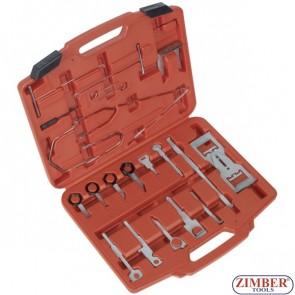 46Pc Radio Removal Tool Set - ZIMBER