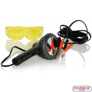 Ultraviolet Leak Detection Light - 50W/12V,  ZR-36UVDL12V - ZIMBER-TOOLS