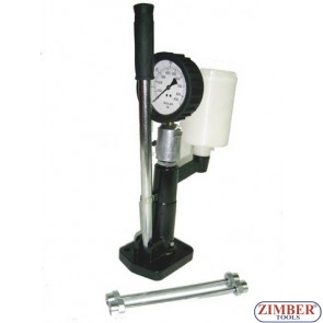 DIESEL INJECTOR TEST AND CALIBRATING HAND PUMP. 0-600 Bar - ZIMBER