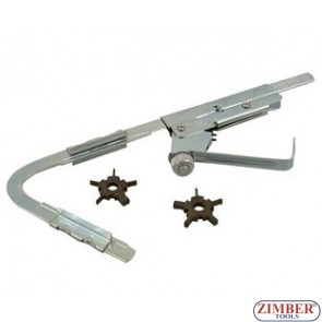 Piston ring groove cleaning tool - ZIMBER