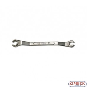 BRAKE PIPE FLARE NUT SPANNER WRENCH 10MM X 11MM - ZIMBER