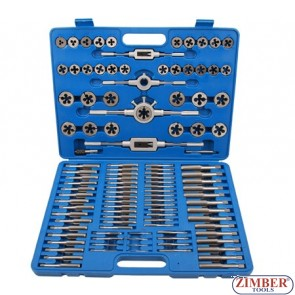 Tap and Die Set | M2 - M18 | 110 pcs. - 1900 - BGS technic Germany.