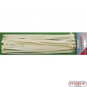 30-piece Cable Tie Set, 8.0 x 400 mm - BGS