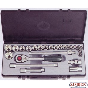"Socket set 1/2"", 24pc (4246S-5) - FORCE"