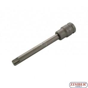 """1/2"""" Impact Bit Socket, spline, M12x10x140 mm - BGS"""