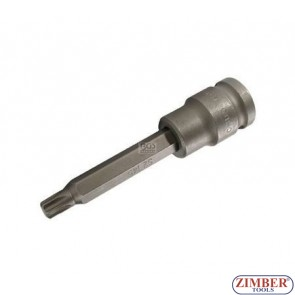 "1/2"" Impact Bit Socket, T-STAR, 100 mm long, T45 - BGS"