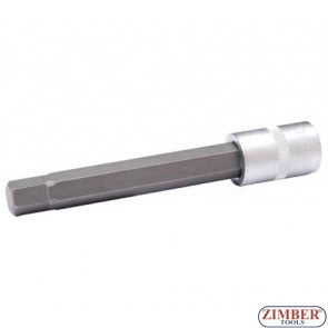 "1/2"" Bit Socket, int. hex., 13x140 mm - BGS"