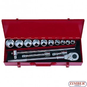 "14pc 3/4"" Socket Set (6141-5) - FORCE"