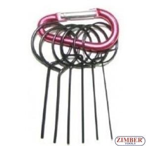 Automatic Tensioner Timing Belt Retaining pin set, ZR-36ETTS48  - ZIMBER TOOLS