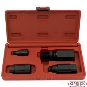 4 pcs Diesel injector removal set Delphi & Bosch - ZIMBER