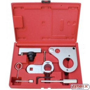 Timing tool kit for Renault 1.6/2.0DCI chain drive diesel engines - ZR-36ETTS119 - ZIMBER TOOLS