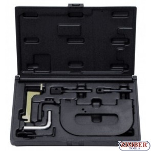 Petrol Engine Setting/Locking Kit - Renault 1.4 1.6 1.8 2.0 16v K4J K4M F4P F4R(t) - Belt Drive - ZIMBER-TOOOLS.