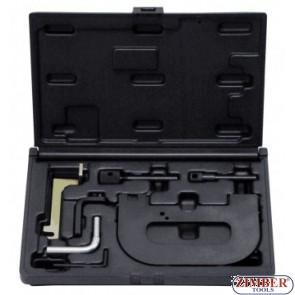 Petrol Engine Setting/Locking Kit - Renault 1.4 1.6 1.8 2.0 16v K4J K4M F4P F4R(t) - Belt Drive - ZIMBER-TOOOLS.