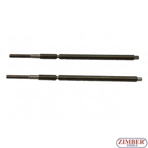 Glow plug removal thread rod - 2pcs - ZR-41PGPTS1913, ZIMBER TOOLS
