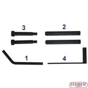 Petrol Engine Locking Tool Set Suitable for FIAT1.8/2.0 - ZIMBER