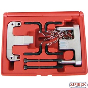 Engine timing locking Camshaft tool set For MERCEDES BENZ CHRYSLER JEEP, ZR-36ETTSB20 - ZIMBER TOOLS