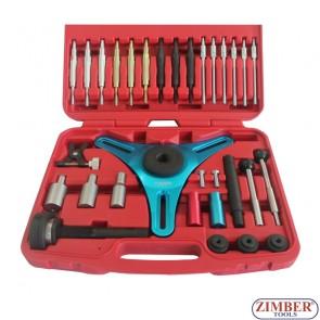 Complete Kit For Assem & Disassem Self Adjusting Clutches - ZIMBER - TOOLS