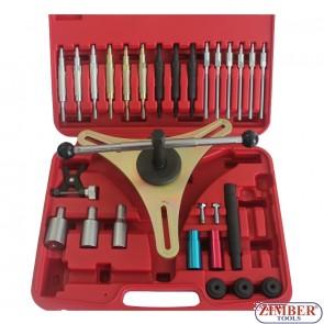 Complete Kit For Assem & Disassem.Of Self Adjusting Clutches - ZIMBER - TOOLS