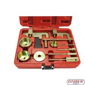 Diesel Engine Camshaft Timing Tool Locking Kit Vauxhall Renault Nissan, NISSAN, RENAULT DCI, VAUXHALL/OPEL 1.5, 1.9, 2.2, 2.5DI/DTI/CDTI