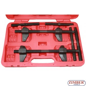 Coil Spring Compressor Set, 65-320-mm- ZR-36SCC19 - ZIMBER-TOOLS
