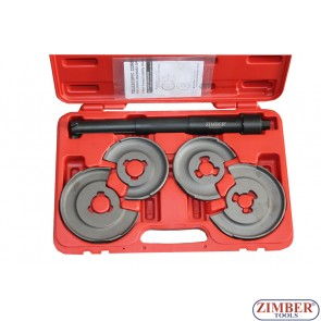 Telescopic Compressor For Shock Absorber Springs (Both Front & Rear) ZR-36TCSAS - ZIMBER TOOLS