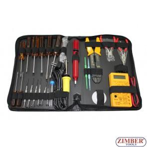 33 Piece Electric System Repair Kit - ZIMBER TOOLS