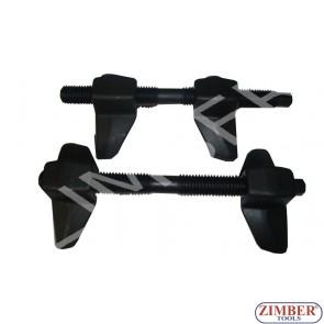 Universal Coil Spring Compressors 65-200mm - ZIMBER TOOLS