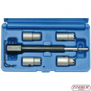 5-piece Injector Sealing Cutter Set for CDI Engines