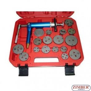 Air Powered Brake Caliper Wind Back Tool kit ,  ZR-36APB - ZIMBER TOOLS