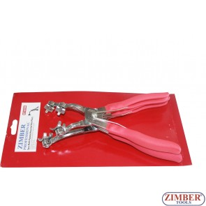 2pcs MULTI-PURPOSE HOSE AND WIRE PLIERS -ZIMBER