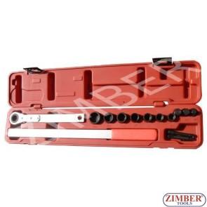 15 Piece Serpentine Belt Service Kit - ZIMBER TOOLS