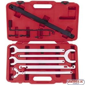 BMW/Mercedes Fan Clutch Water Pump Wrench Holder Tool SET - ZIMBER TOOLS