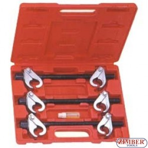 3PCS COIL SPRING CLAMP SET ZL-408C - ZIMBER-TOOLS