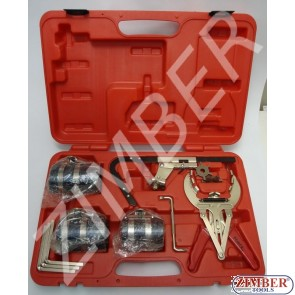 Piston Ring installing and Piston Groove cleaning tool set - FORCE