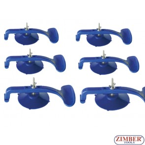 6 pcs Moulding Suction Clamps - ZIMBER TOOLS