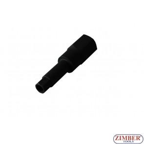 "Injector Socket 1/2"" 10 mm Internal Hexagon-ZR-15HBS1210 - ZIMBER TOOLS"