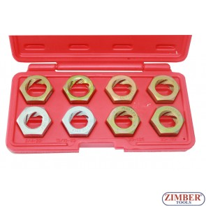 8 pcs thread restoring die set - ZIMBER TOOLS