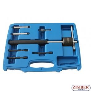 7pcs Glow Plug Puller Set, ZR-36GPPS7 - ZIMBER TOOLS