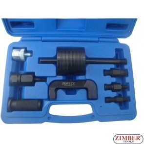 9pcs Common Rail Injectors Extractor Set ZR-36INP09 - ZIMBER-TOOLS.