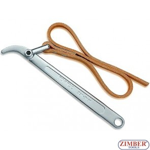 "STRAP WRENCH 225-mm - 9"" - ZIMBER-TOOLS"