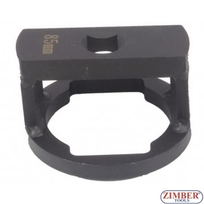 Wheel Capsule And Axle Nut Socket 85-mm, ZR-36ANSWC85 - ZIMBER TOOLS.