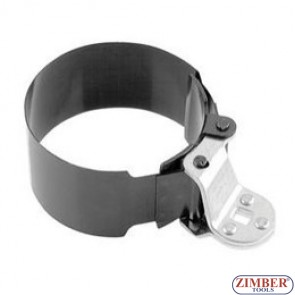 Oil Filter Strap Wrench XL, 125 - 145 mm, ZR-36OFWSD125 - ZIMBER TOOLS