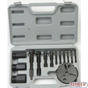 A/C Compressor Clutch Hub Remover Kit - ZT-04D1025 - SMANN TOOLS