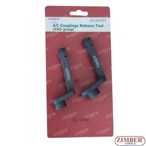 A/C Couplings Release Tool VAG Group VW, Audi, Skoda, Seat - ZR-36ACRT - ZIMBER TOOLS.