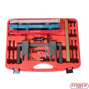 BMW - N51,N52,N53, N54,N55,Cam Camshaft Alignment Engine Timing Master Tool Kit Set, ZT-04A2180- SMANN TOOLS.